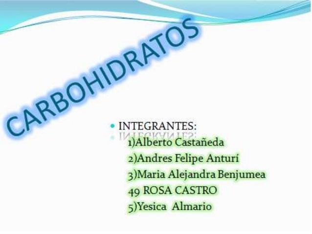 INTEGRANTES:   1)Alberto Castañeda 2)Andres Felipe Anturí 3)María Alej andra Benjumea 49 ROSA CASTRO  5)Yesica Almarío