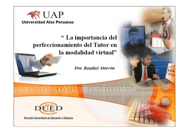• se requiere de un seguimiento permanente del rol docente tutor para mejorar y perfeccionar susmejorar y perfeccionar sus...