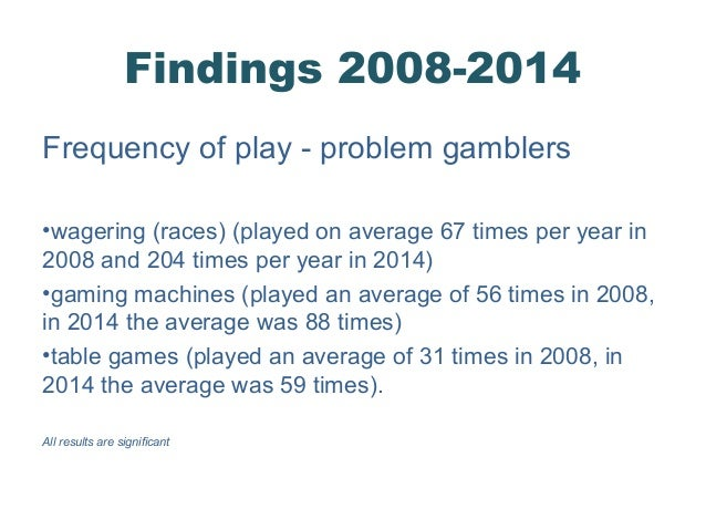 Problem gambling prevalence study avery cardoza s casino