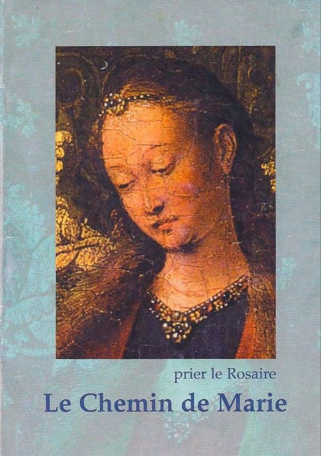Rosaire, le chemin de Marie