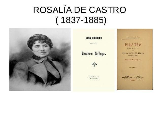 ROSALÍA DE CASTRO ( 1837-1885)