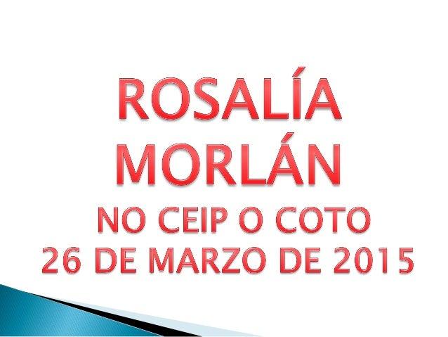 O pasado 26 de marzo Rosalía compartíu con nós un pouco desa poesía, que ela tan ben sabe escribir ,e a nós tanto nos gust...