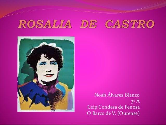 Noah Álvarez Blanco 3º A Ceip Condesa de Fenosa O Barco de V. (Ourense)