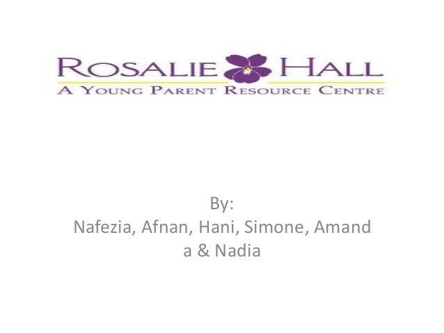 By:Nafezia, Afnan, Hani, Simone, Amand             a & Nadia