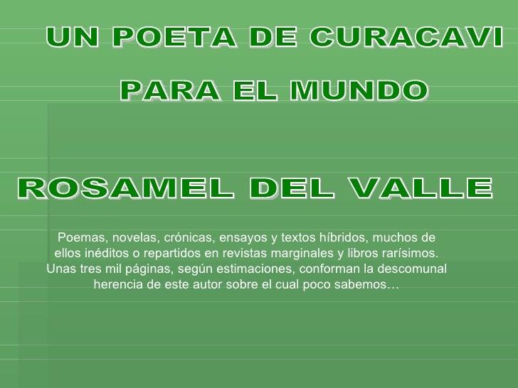 Poemas, novelas, crónicas, ensayos y textos híbridos, muchos de  ellos inéditos o repartidos en revistas marginales y libr...