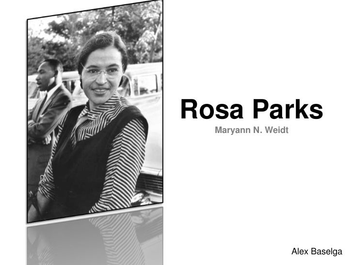 How was Rosa Parks courageous?