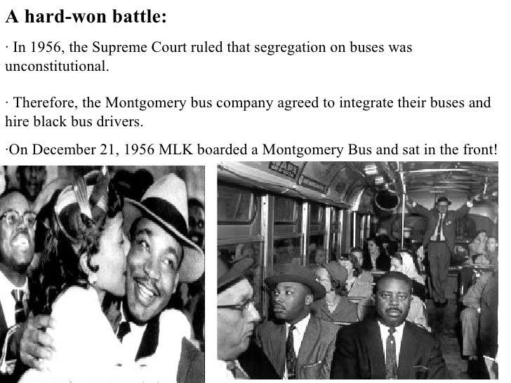 Civil Rights Movement Rosa Parks Bus Boycott
