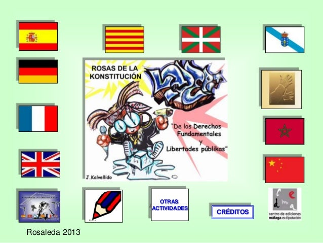 OTRAS ACTIVIDADES  Rosaleda 2013  CRÉDITOS