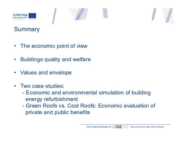 "Paolo Rosato, University of Trieste (IT) ""Managing economic analysis of building envelope "" Slide 2"