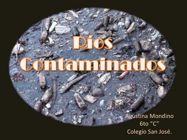 """Agustina Mondino      6to """"C"""" Colegio San José."""