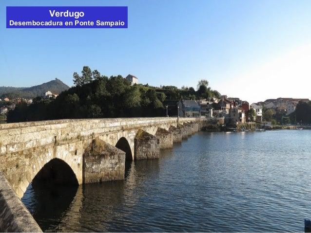 Verdugo  Desembocadura en Ponte Sampaio