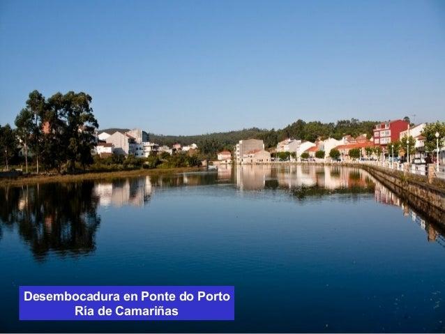 Desembocadura en Ponte do Porto  Ría de Camariñas