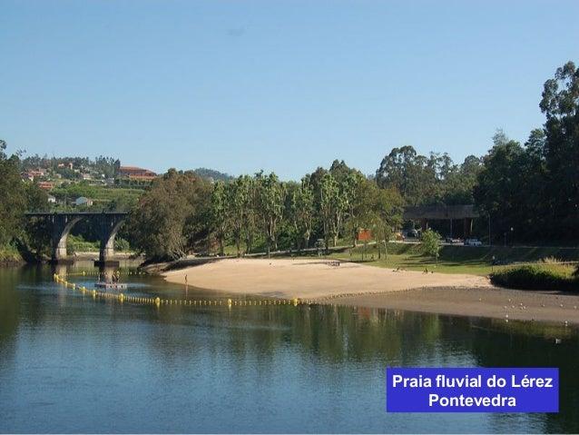 Praia fluvial do Lérez  Pontevedra