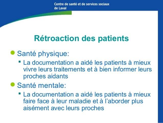 Unité de médecine familiale Hôpital de la Cité-de-la-Santé CSSS de Laval