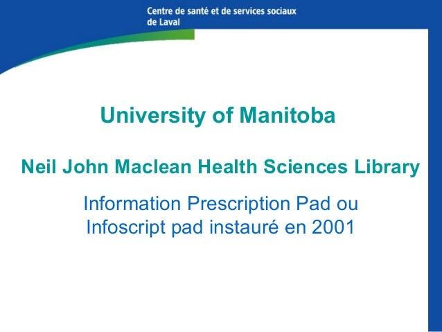 Industrie de la prescription d'information MedEncentive,http://medencentive.com/ Healthwise,http://www.healthwise.org...
