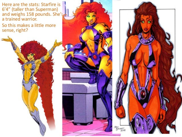 The gallery for --> Starfire Reboot Costume