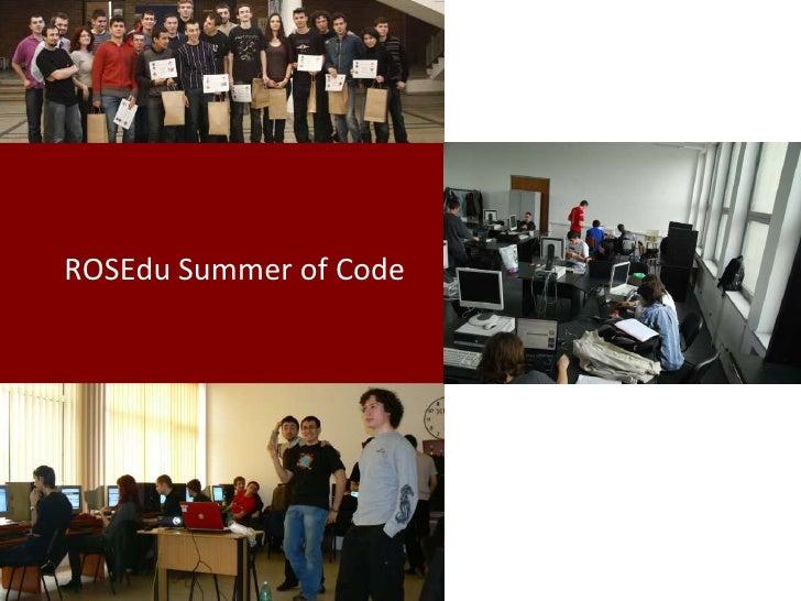 ROSEdu Summer Of Code[5.0]