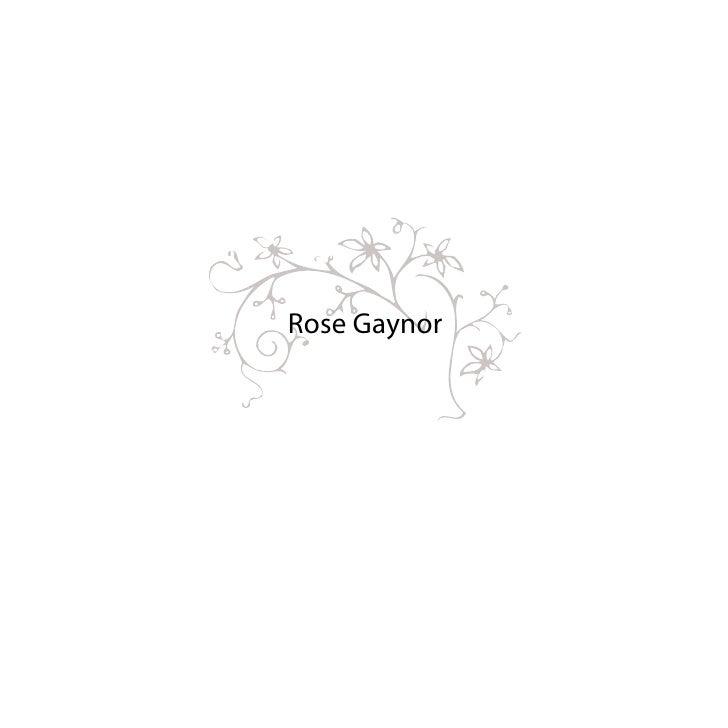 Rose Gaynor