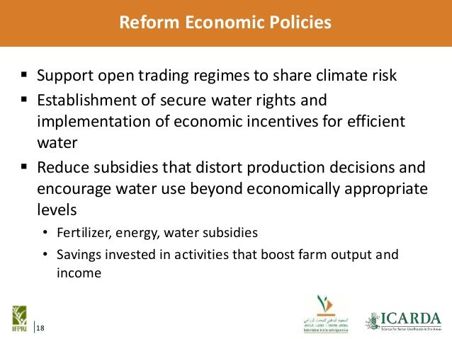 The role of agricultural policy reform and investment in meeting fut agriculture 19 sciox Image collections