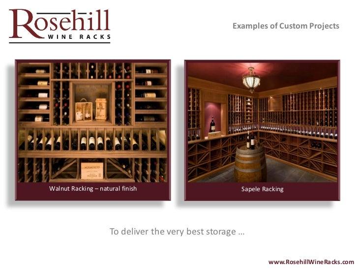 RosehillWineRacks.com; 16.  sc 1 st  SlideShare & Rosehill Wine Racks