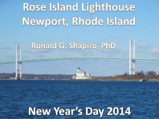 Rose Island Lighthouse Photo Album -- New Year's Day 2014