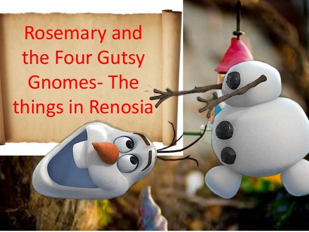 Gnome Garden: Rosemary And The Four Gnomes Lesson Ls