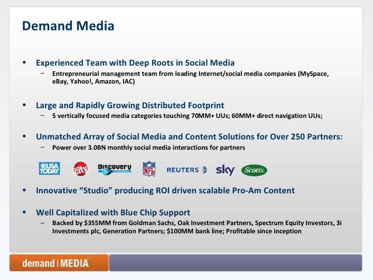 Demand Media Slide 2