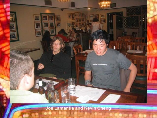 Joe Lamantia and Kevin Cheng