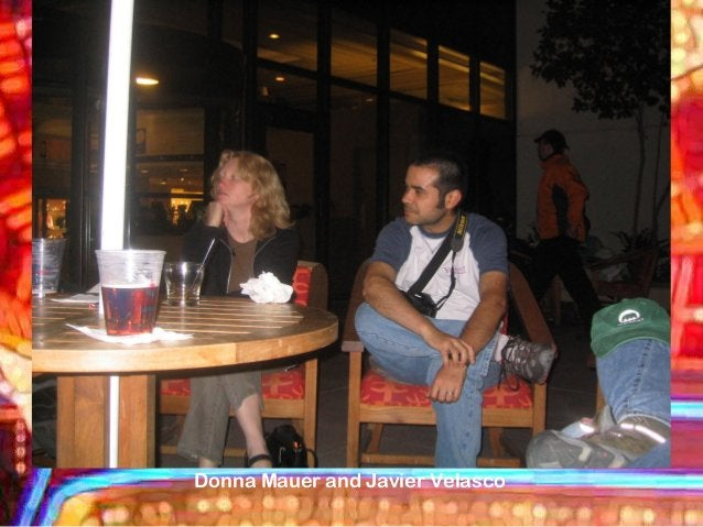 Donna Mauer and Javier Velasco