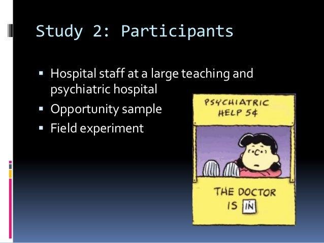 Rosenhan study conclusions