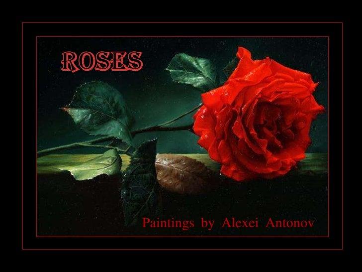 Paintings by Alexei Antonov