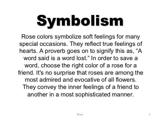 Does A Rose What Symbolise Black