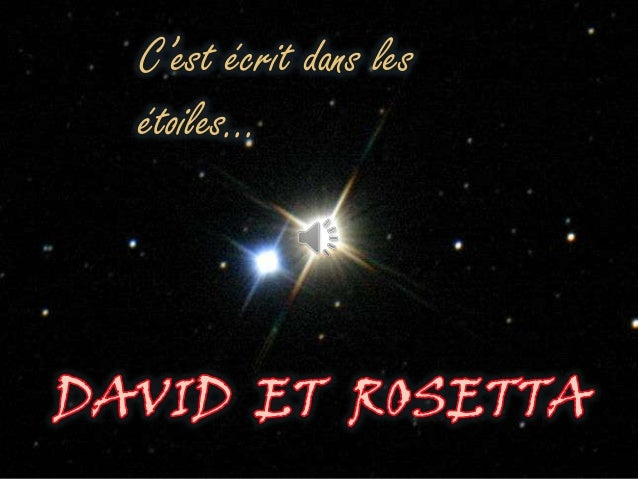 C'est écrit dans les étoiles…