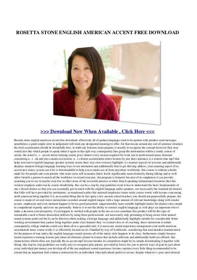 Rosetta stone-english-american-accent-free-download