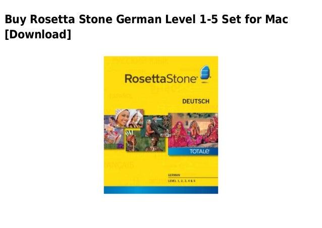 rosetta stone german mac torrent