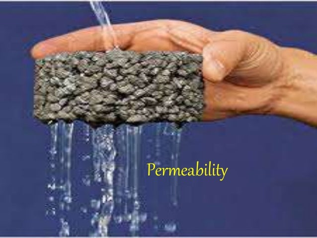 soil permability The soil permeability is a measure indicating the capacity of the soil or rock to allow fluids to pass through it it is often represented by the permeability coefficient (k) through the darcy's equation:.