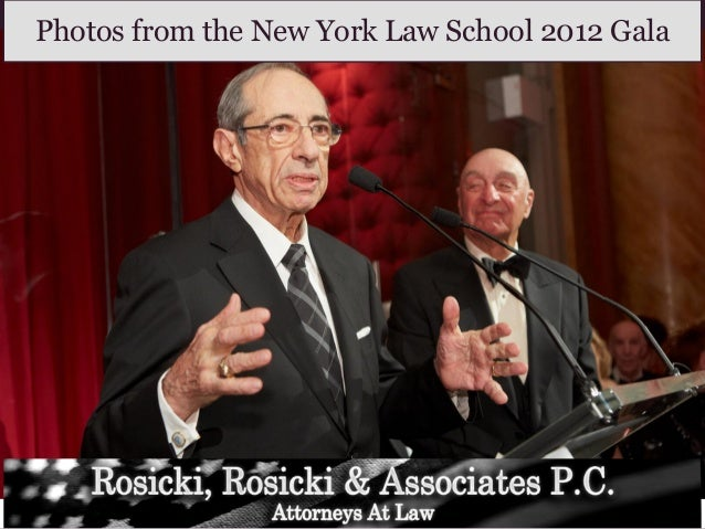 Photos from the New York Law School 2012 Gala