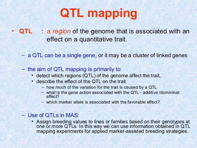 roslin qtl mapping