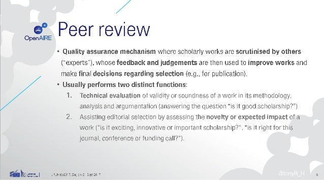 peer review in the age of open science