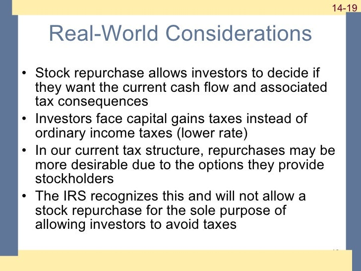 Stock options ordinary income or capital gains