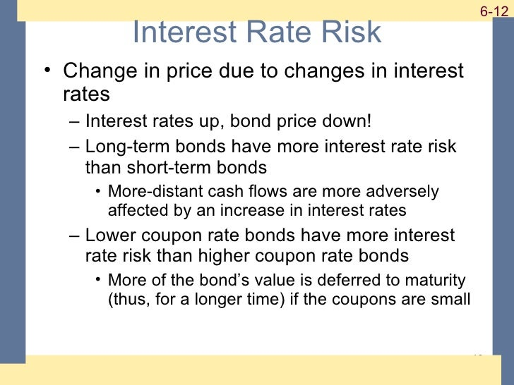 interest rates and bond valuation answer 228 interest rates and bond valuation chapter across the disciplines why this chapter matters to you accounting: you need to understand interest rates and the various.