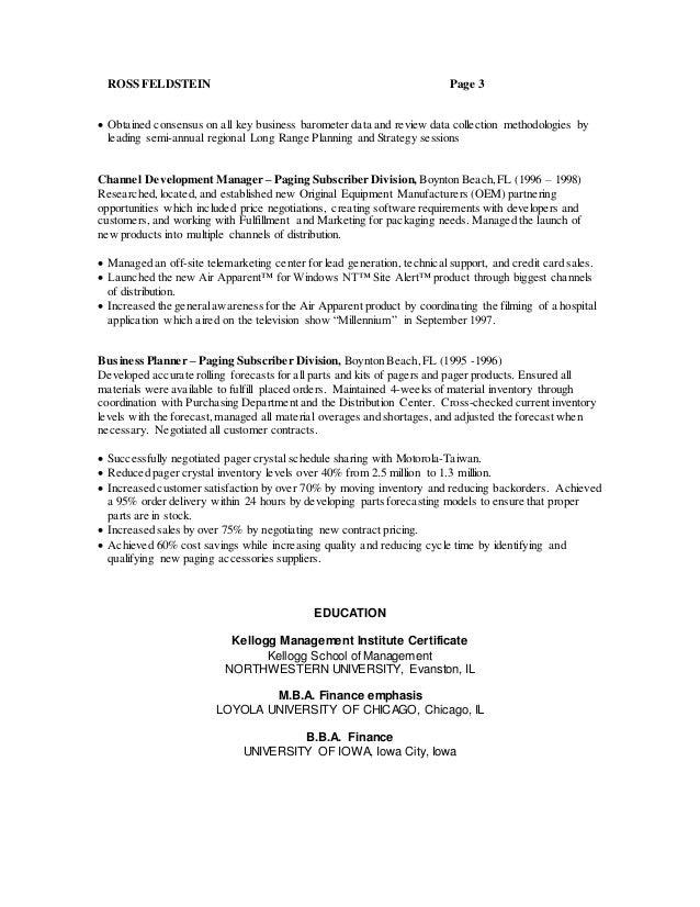 hotel management resume format - Kellogg Resume Format