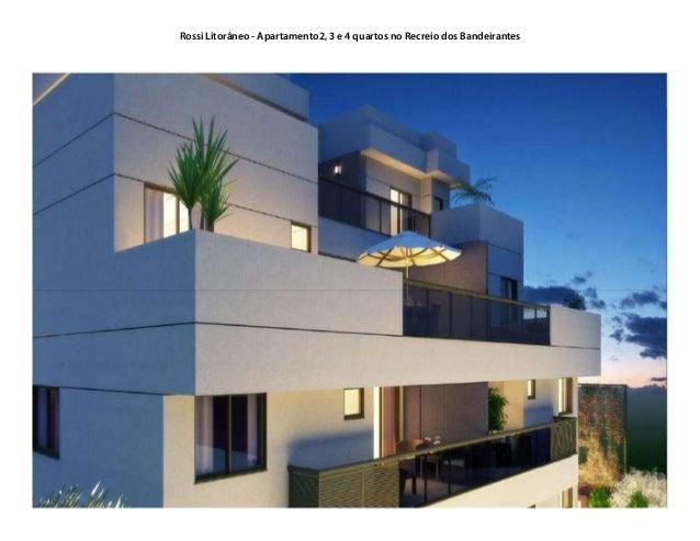 Rossi Litorâneo - Apartamento2, 3 e 4 quartos no Recreio dos Bandeirantes