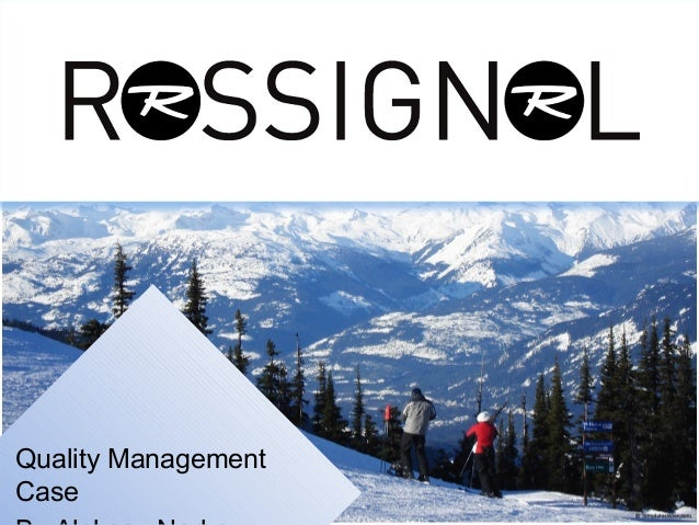Quality ManagementCase