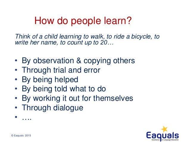 how do individuals learn to become By definition, individuals with a learning disability do not struggle because of low intelligence, poor teaching, lack of motivation or other such factors starting in elementary and middle school, students should become really good at explaining their learning disability to teachers by the time they're in high.