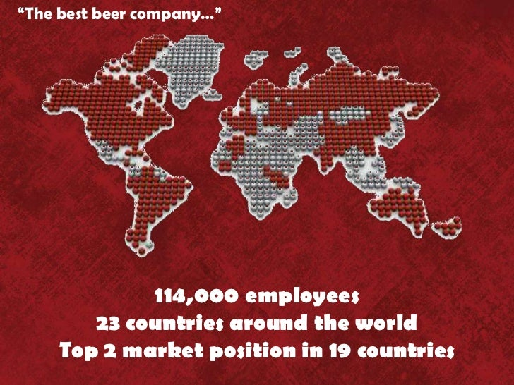 "an introduction to the efficiency of anheuser busch companies inc In january 2016, our subsidiary anheuser-busch inbev finance inc (""abifi"")  issued  any additional restrictions in such countries, or the introduction of  similar  and efficient combination of our activities with sabmiller, two  companies of."