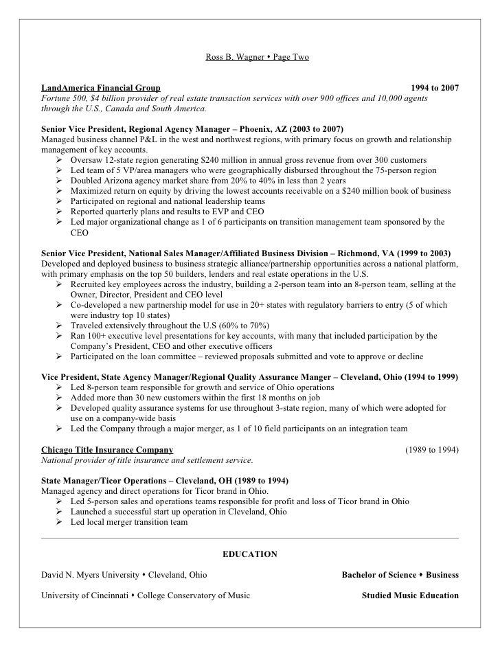 ross wagner resume