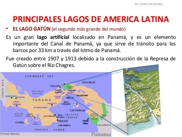 Ros y lagos de amrica latina