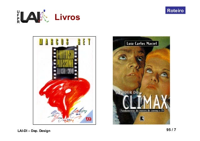 UFPRLAI-DI – Dep. Design 95 / 7RoteiroLivros