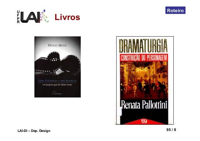 UFPRLAI-DI – Dep. Design 95 / 8RoteiroLivros